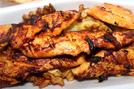 kabab: chicken kabab