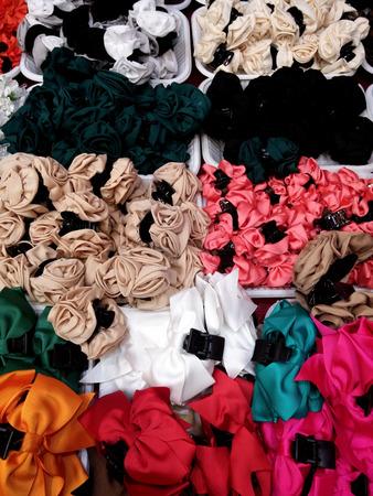 cintillos: pinzas para el cabello de lujo Foto de archivo