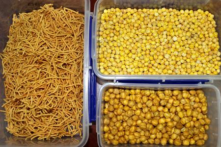 sev: snacks Stock Photo