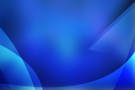 diminishing point: Blue Abstract