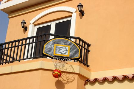 floodlit: basketball