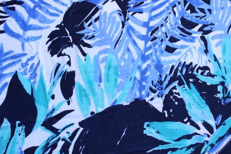 rolling landscape: blue pattern Stock Photo