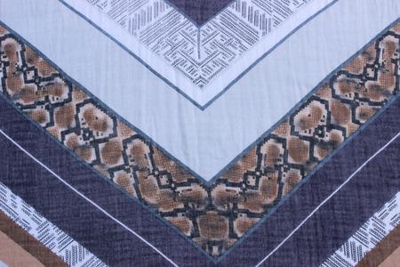 rolling landscape: white pattern