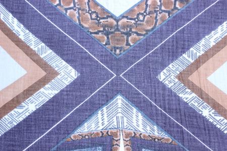 rolling landscape: purple cross pattern Stock Photo
