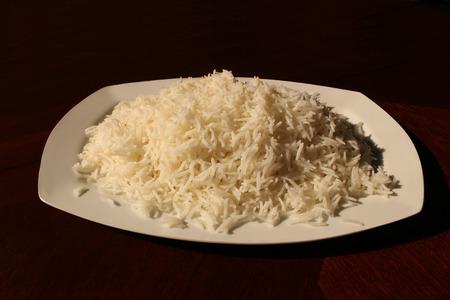 staple food: Plain Rice