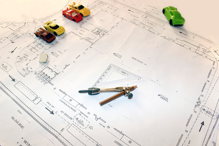 construction plan: road making architect