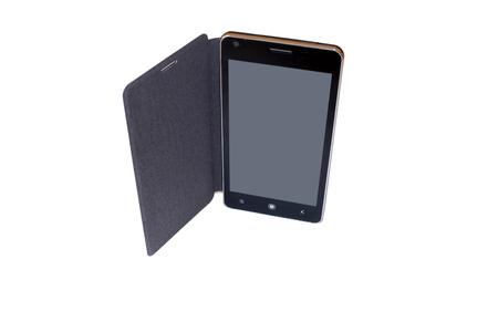 telecommunications equipment: Smartphone LCD Stock Photo