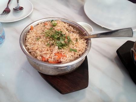 pakistani food: Biryani Stock Photo