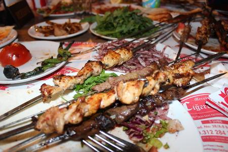 kabab: seekh kabab Stock Photo