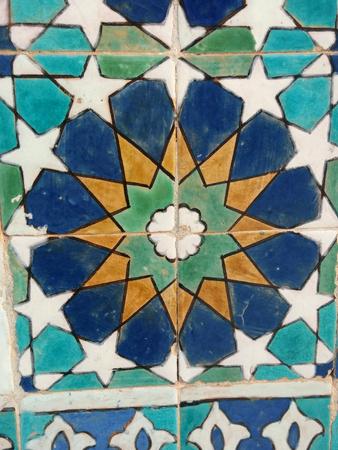 wall pattern mosaic Stock Photo