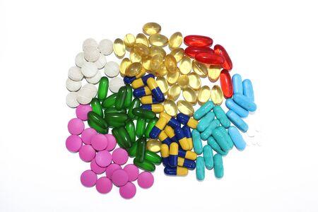Tablets and capsule Zdjęcie Seryjne