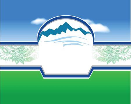 mountains in colors Banco de Imagens - 150535213