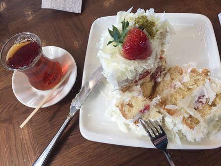 tasty healthy vanilla cake