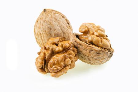 close up walnuts healthy food for brain Foto de archivo - 114059693