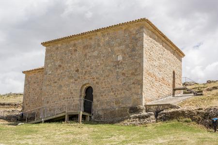 pre romanesque: Hermitage pre-romanesce in Casillas de Berlanga, Soria