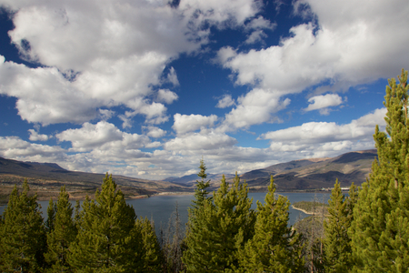 lake dillon: View to Lake Dillon from Sapphire Point Trail