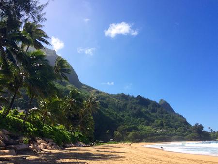 Tunnels beach on the Hawaiian Island of Kauai