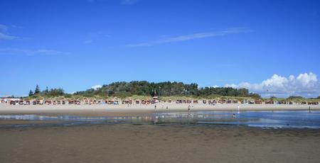 Beach holiday at North Frisian island of Foehr (Foehr) Stock Photo