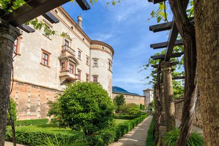 The Castello del Buonconsiglio is one of the major landmarks in the lovely Italian city of Trento (Trent) in the region of Trentino Alto Adige Suedtirol Publikacyjne