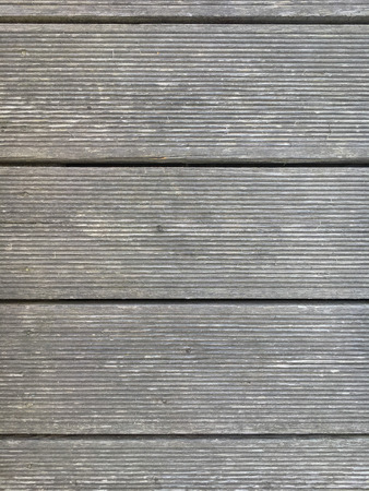 Terrace made of Siberian larch wood with gray patina