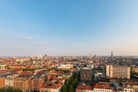 Cityscape of the Belgian city of Antwerp