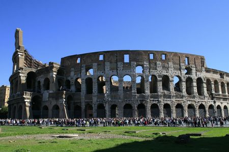 immensely: colosseum from rome Stock Photo