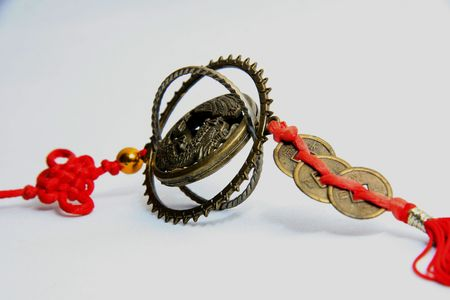 fengshui: amulet from asia,fengshui art