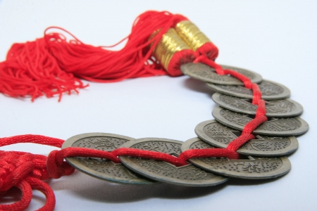 small money in feng shui Stock Photo