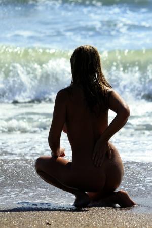 women relax on the beach