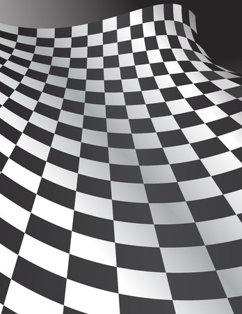 Abstract Checkerboard Background Illustration