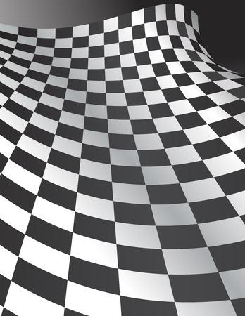 Abstract Checkerboard Background Ilustração