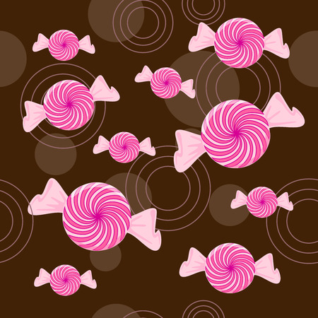 lolly pop: Seamless Peppermint Candy Background