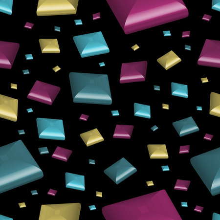 Seamless Candy Square Background