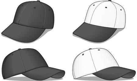 vector fabric: Baseball caps