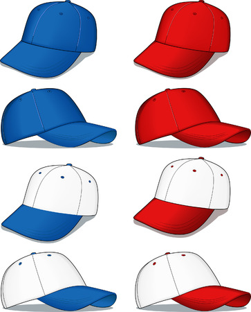 Baseball caps Stock Vector - 4576781