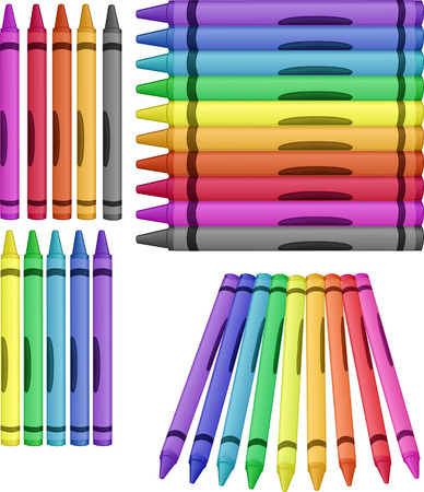 implement: crayons