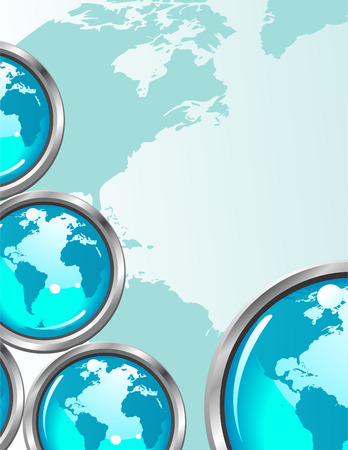 Abstract Global Business Background