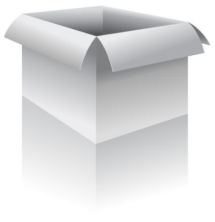 Box - vector illustration