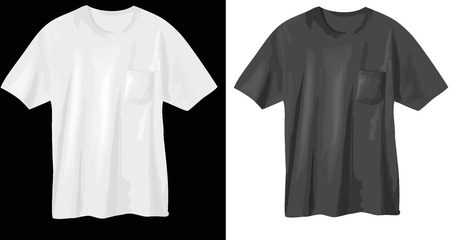 T-shirts - vector illustrations