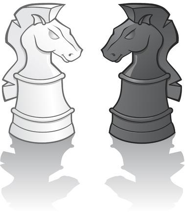 Ritter-Chess-Pieces-Abbildung