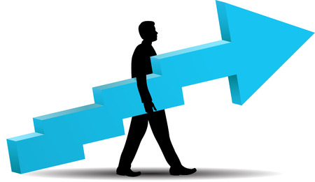 Business Success - illustration Illustration