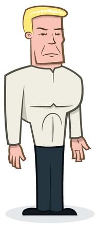Tough Guy - vector illustration Vector