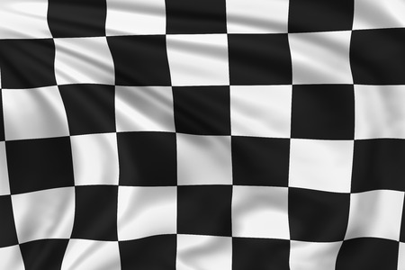 sports race emblem: Checkered Flag