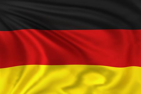 wave crest: German Flag