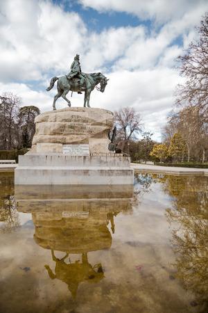 parque del buen retiro: Historical monument of Madrid