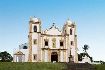carmo: Olinda, Pernambuco, Brazil, August 13, 2015: Church of Saint Anthony of Carmo Carmo Church