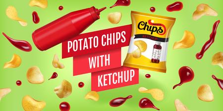 Potato chips ads.