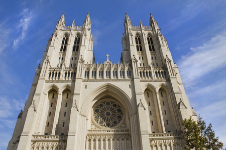 denominational: The National Cathedral in Washington DC  Stock Photo