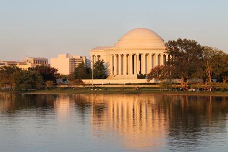 Thomas Jefferson Memorial over the Tidal Basin