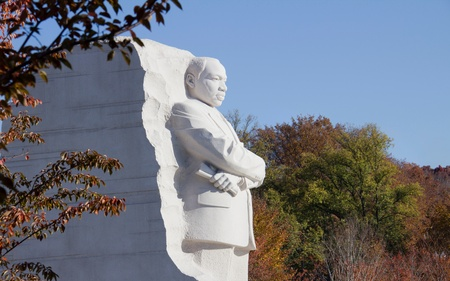 Martin Luther King Monument in Washington DC  photo